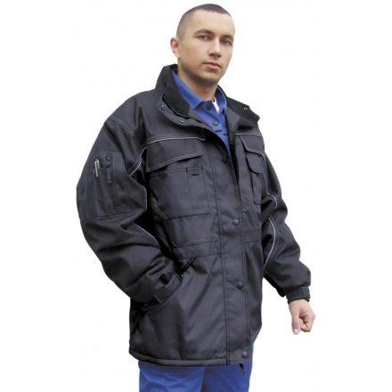 Grönland kabát fekete