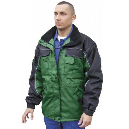 Grönland kabát Zöld- fekete