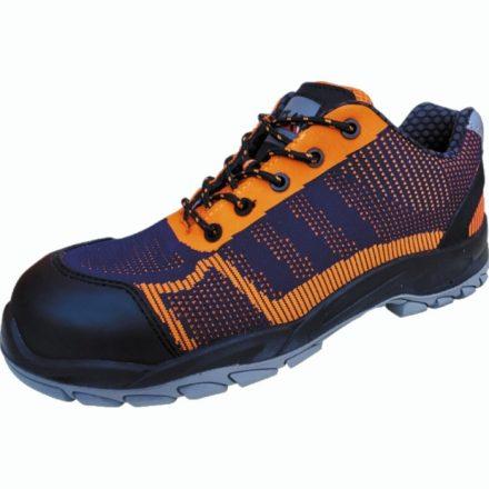 Fly-Knit S1P kék-narancs