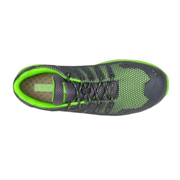 FLUORITE (S1P SRC) zöld/szürke munkavédelmi félcipő