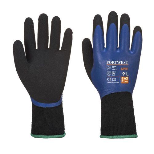 Portwest Thermo Pro kesztyű - kék / fekete