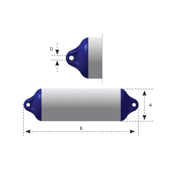 OCEAN Puffer Heavy Duty H2, 14x50cm,