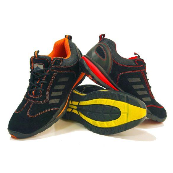Portwest Lusum védőcipő S1P - fekete