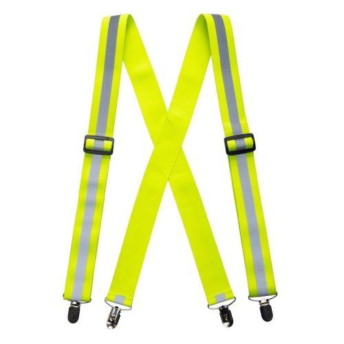 Jól láthatósági nadrágtartó - sárga
