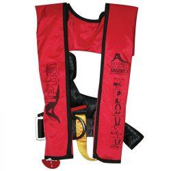 Alfa automata mentőmellény 170N ISO 12402-3