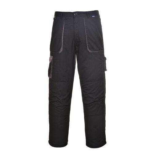 Texo Contrast bélelt nadrág fekete