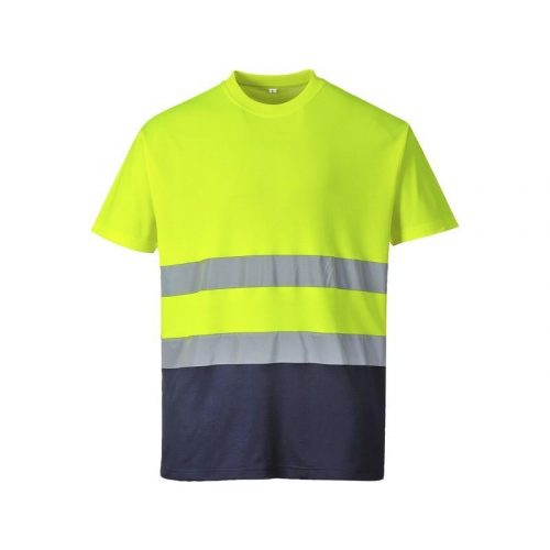 Kéttónusú Pamut komfort póló